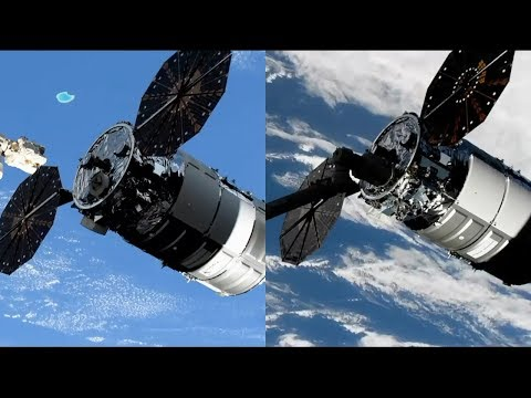 NG-12: S.S. Alan Bean Cygnus capture
