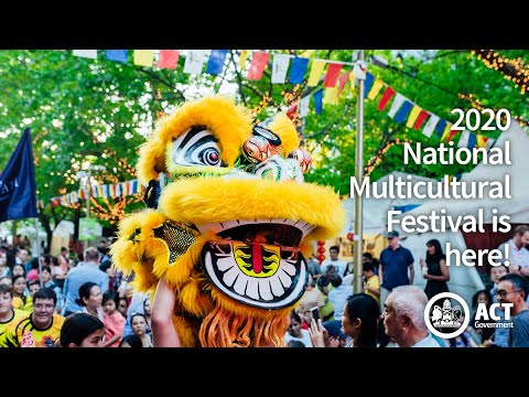 2020 National Multicultural Festival Is Almost Here