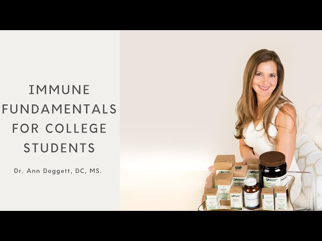 Fundamental Immune Support for College Students