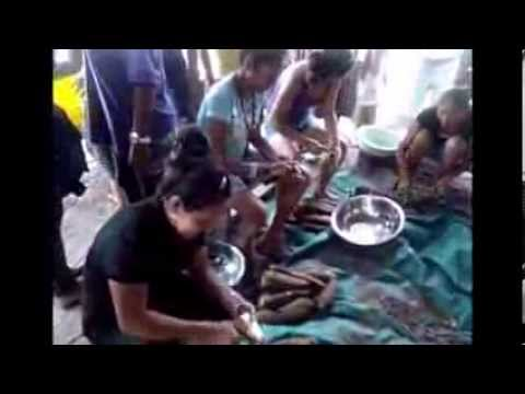 Cassava Scraping Exercise  - Miss Amerindian Heritage 2013