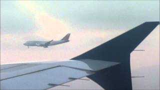 Air to air view of Philippine Airlines Boeing 747-400