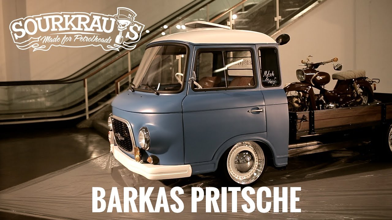 Barkas Pritsche / Shortcut / Motorshow Essen 2017 Preview