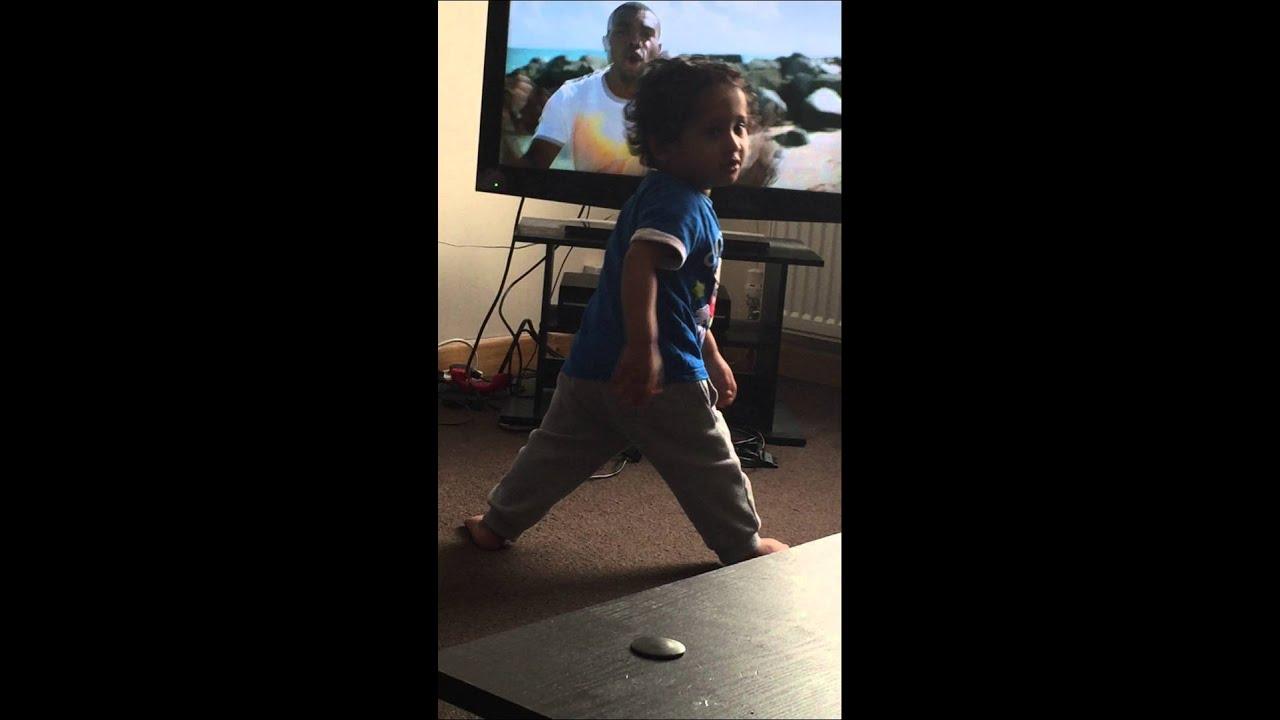 Lyric omi cheerleader lyrics : OMI Cheerleader with baby dancing. - YouTube