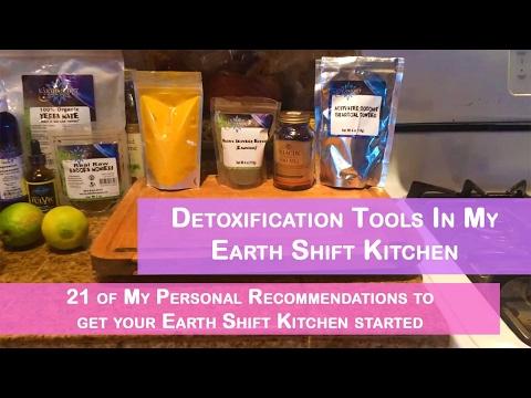 Detoxification Tools In My Earth Shift Kitchen | Dr. Robert Cassar