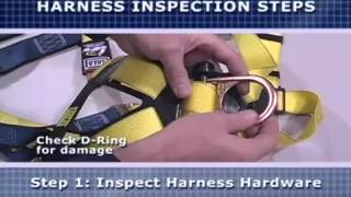 DBI Sala/Capital Safety Fall Protection Harness Donning