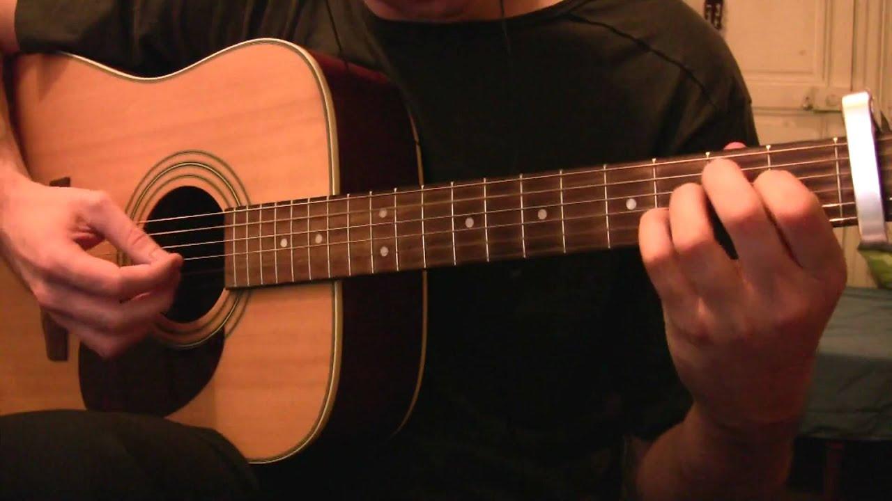 Condor Avenue Elliott Smith Cover Guitar Only Tabs Youtube