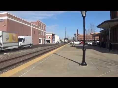 Amtrak Trains In Springfield, IL