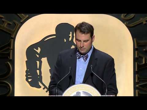 Pat Burns Hockey Hall of Fame Induction (2014)