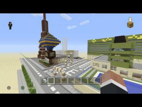 Minecraft Mega construction[Live Gamers Ps4] On créé Las vegas
