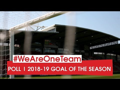 POLL   Vote for the 2018-19 Wrexham AFC Goal of the Season