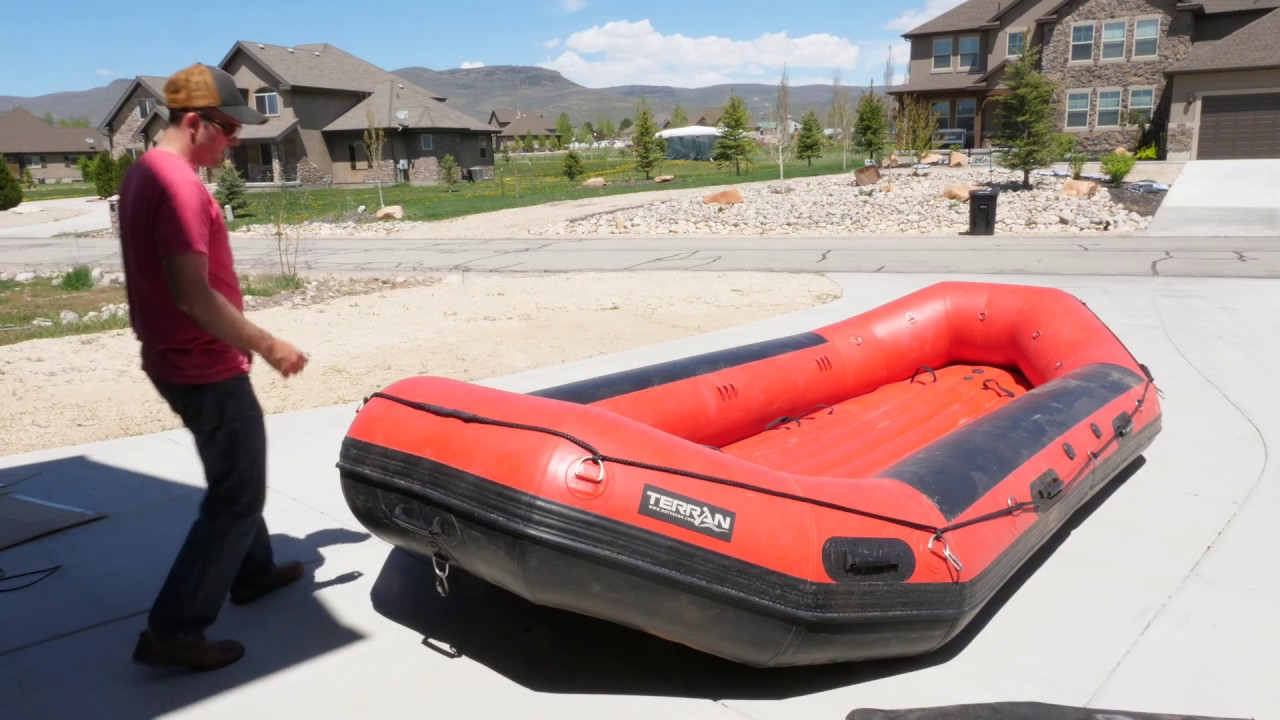 15 foot Red Terran Raft Unboxing and Review