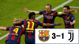 Champions League Final 2015 I Juventus FC - FC Barcelona (1-3)