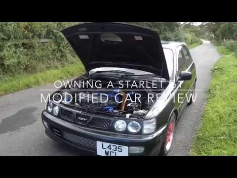Owning A Starlet GT, Modified Car