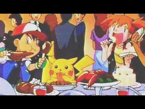 Pokemon Eating Food