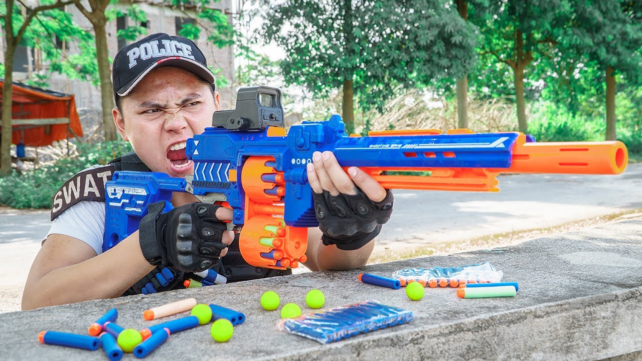 LTT Game Nerf War : Squad Warriors SEAL X Nerf Guns Fight Rocket Crazy The Hunt Of The Rulers