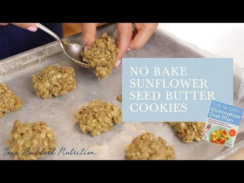 Cook the Book - The 14 Day Elimination Diet Plan | No Bake Sunflower Seed Butter Cookies thumbnail