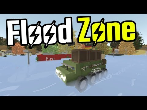 Exploring a FLOODED TOWN in an APC!! - Unturned Germany Map - Ep. 17
