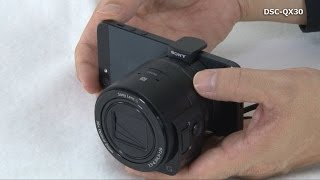 DSC-QX30 Set-up Video Tutorial (For iPhone)