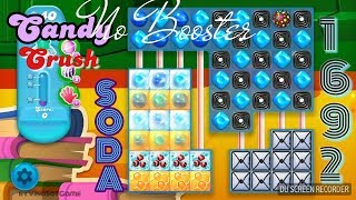 Candy Crush Soda Saga Level 1692 ☆☆☆ Completed NO BOOSTER