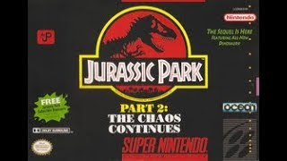 LIVE : Jurassic Park 2: The Chaos Continues (SNES)