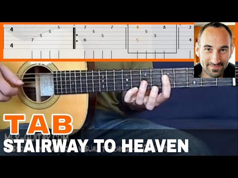 "Guitar guitar cover with tabs : Guitar Cover / Tab ""Stairway To Heaven"" by MLR-Guitar - YouTube"