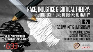 6:33 Event // Race, Injustice, and Critical Theory