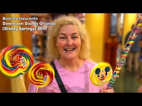 Best Restaurants Downtown Disney Orlando (Disney Springs) 2017