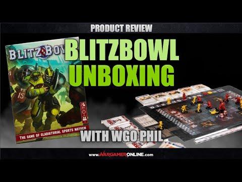 Unboxing: Blitzbowl from Games Workshop.