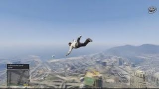 GTA 5 GLITCHES 1 15 Glitches And Tricks WALK IN AIR!!!!! Glitches SHOOT In Garage....with K of G^^