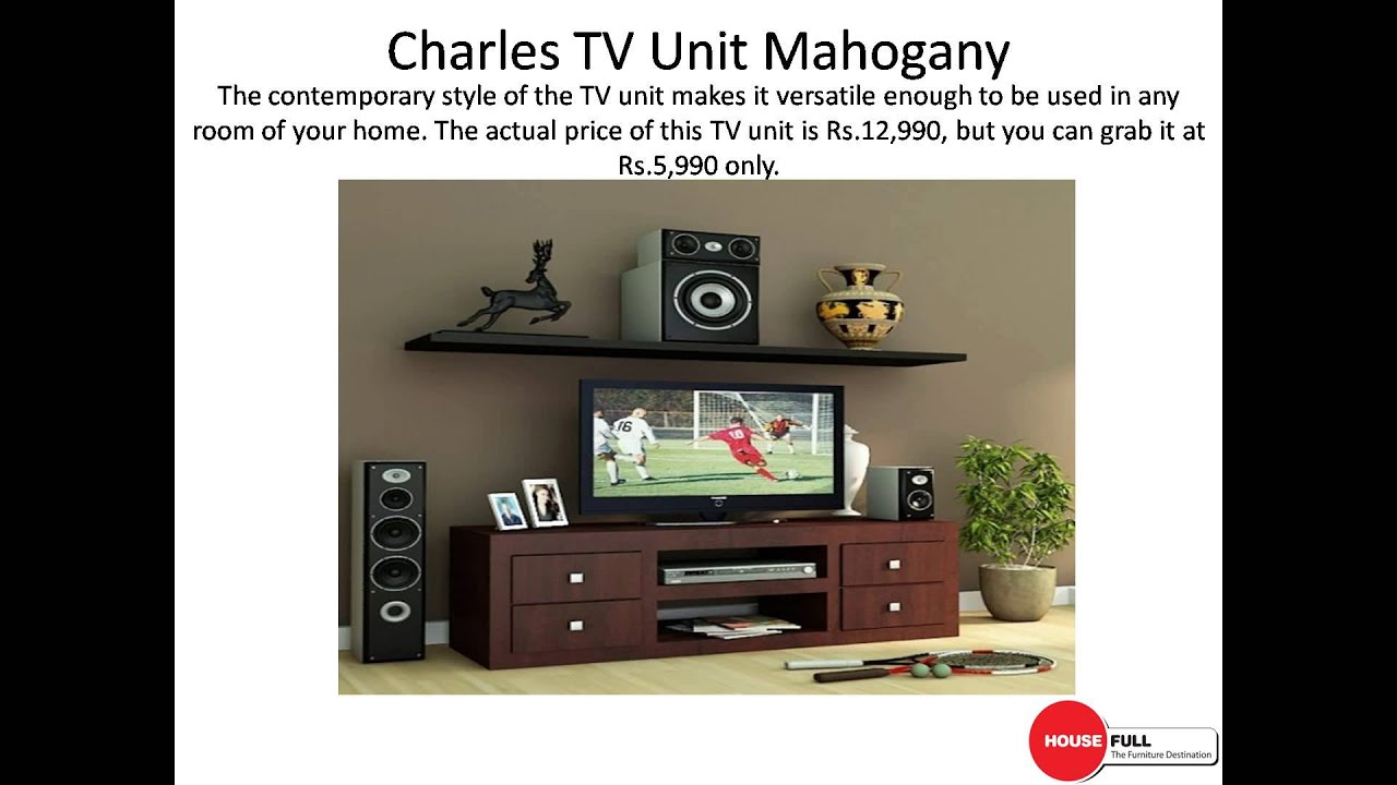 Stylish TV Units Online