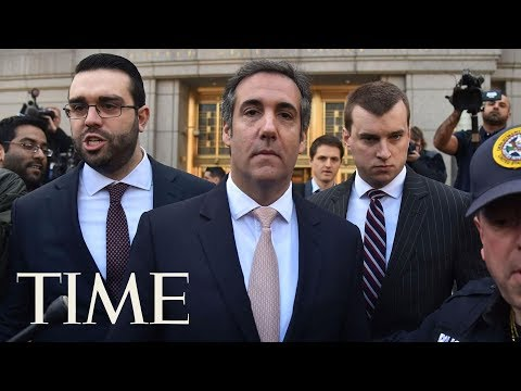 Trump's Ex-Attorney Michael Cohen Appeared In NY Amid Talk Of Plea Deal In Fraud Case | TIME