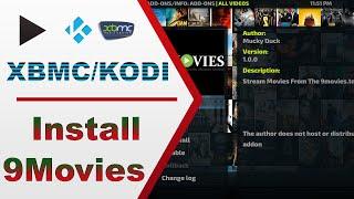 🌟 Install 9movies addon on Kodi