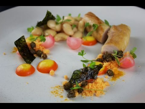 Plating Food #14 | Rabbit and Peppers |