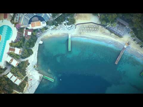 On beach  |  Kuşadası- Aydın Drone ile Çekim 2017 (4K)