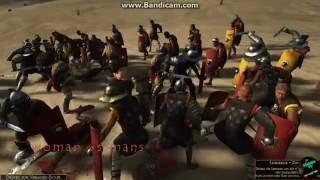 #4/Rome2 42 woman gladiator VS 42 gladiators