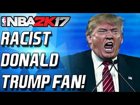 NBA 2K17 MyTeam - FU#K DONALD TRUMP! CRAZY TRUMP FAN!