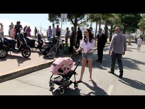 EXCLUSIVE: Tamara Ecclestone and baby Sophia on La Croisette in Cannes