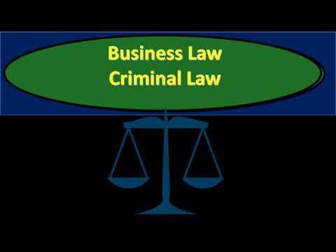 50 Criminal Law u