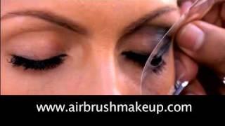 how to get smokey eyes tutorial with dinair airbrush makeup