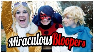 Cover images Miraculous Ladybug and Chat Noir Cosplay Music Video - Bloopers and Outtakes