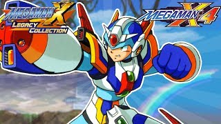 Mega Man X Legacy Collection 1 + 2: Mega Man X4 FULL GAME! (Switch, Xbox One, PS4, PC)