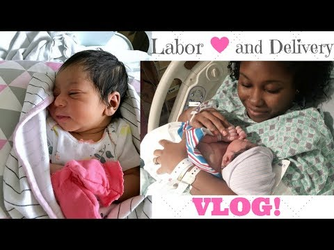 LABOR AND DELIVERY VLOG! ❤️
