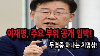 긴급 / 이재명 주요 부위 검증 임박!!! / 신의한수