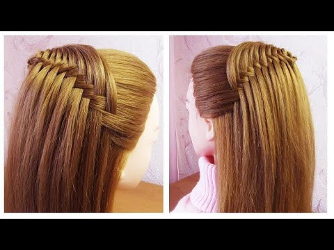 Tuto coiffure simple rapide et belle 🔸 New Quick Easy and Beautiful hairstyle for girls thumbnail