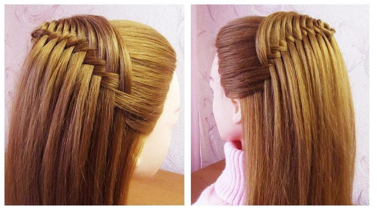 Tuto coiffure simple rapide et belle 🔸 New Quick Easy and Beautiful hairstyle for girls - YouTube