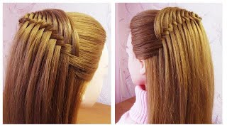 Tuto coiffure simple rapide et belle 🔸 New Quick Easy and Beautiful hairstyle for girls