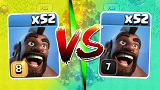 HOG RIDER HEAD TO HEAD! - Clash Of Clans