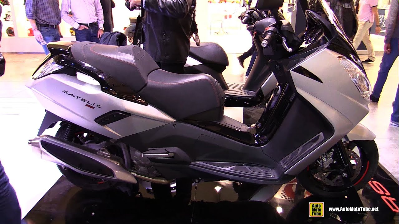 2016 Peugeot Satelis 2 400 RS - Walkaround - 2015 EICMA ...