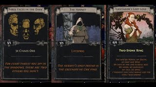 Path of Exile Act 4: Turning in some divination cards!
