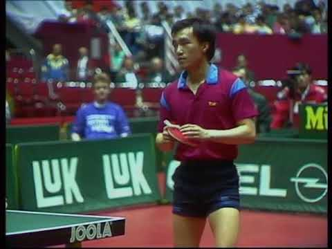1989 40th WTTTC  Persson vs Chen longcan(China-Sewden final)
